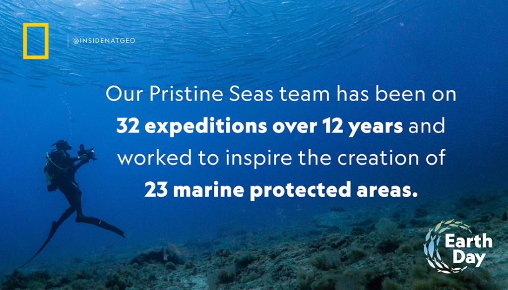 The @NG_pristineseas team is driven to create a better future for the ocean. Through exploration, science, and storytelling, Pristine Seas works to protect vital places in the ocean for the benefit of nature and humanity. https://t.co/tu24fCFsmj