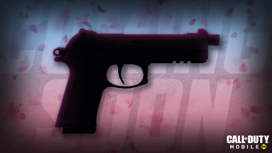 🆕A new pistol is making its way to the next season! ❓Can you guess what it is?  🔜Coming soon to #CODMobile!