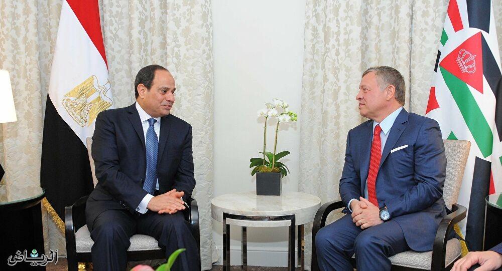 السيسي التوافق الاستراتيجي بين مصر و الأردن قادر على التعاطي مع جميع التحديات