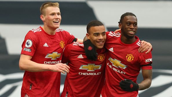 Tottenham Hotspur 1-3 Manchester United: Sublime Second Half Secures Win [@jamie_ward84]  - United comeback again - Goals from Fred, Cavani and Greenwood secure win  Relive the match below ⬇️   https://t.co/P2AFiAH1FF https://t.co/EieEe3zOLX