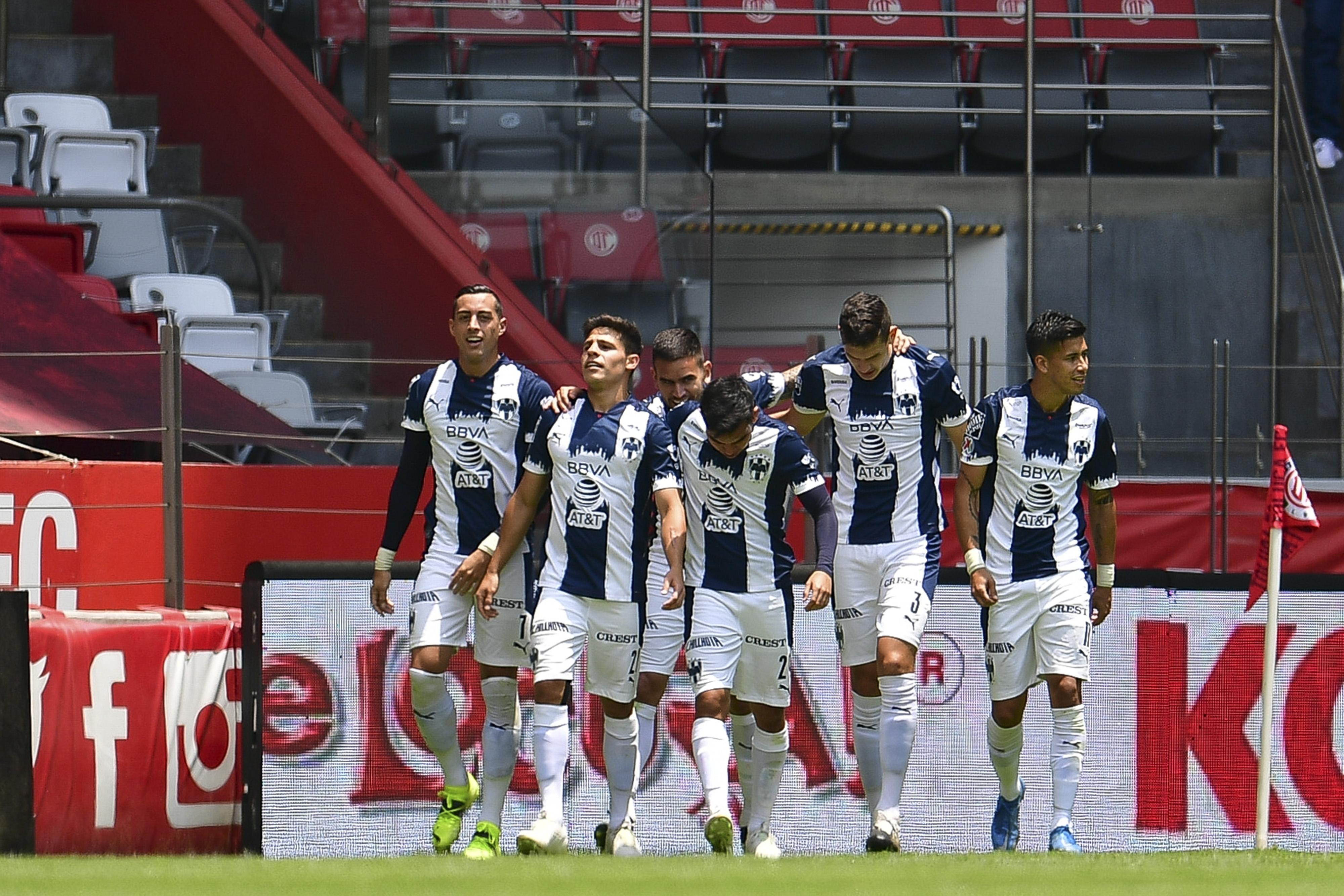 Monterrey se afianza en los primeros lugares con triunfo ante Toluca; llega a 25 puntos