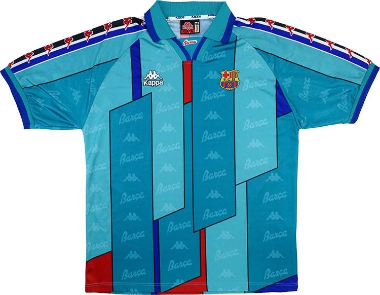 Barcelona Away Shirt 1995 https://t.co/zTFfQAVEYP #ad https://t.co/ognYv3MYYJ