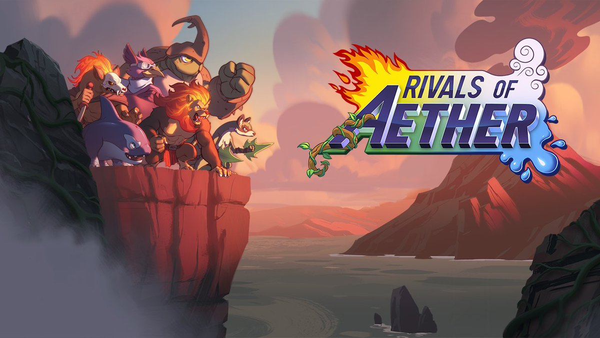 What better way to push the Rivals agenda than a giveaway?  GIVING AWAY ONE COPY OF RIVALS OF AETHER ON STEAM! TO ENTER:  -Like + RT -Follow my account @CatalystNB  -Reply with the name of any character from the game!  Winner will be chosen roughly 24 hours from now! https://t.co/opCb4sX3Zz