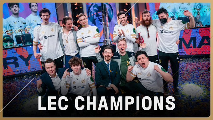 MAD LIONS make the comeback needed to win the LEC Spring Split Playoff finals.