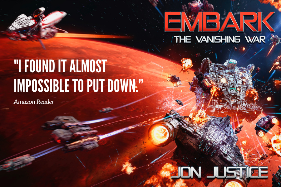"""""""The Embark Trilogy is a fun and exciting sci fi space opera. Not normally my genre, but I really enjoyed it."""" EMBARK (1) (2) (3) #ebook  Buy>  #sciencefiction #KDP #KindleUnlimited #ebook  #writingcommunity #SciFI #Spaceopera"""
