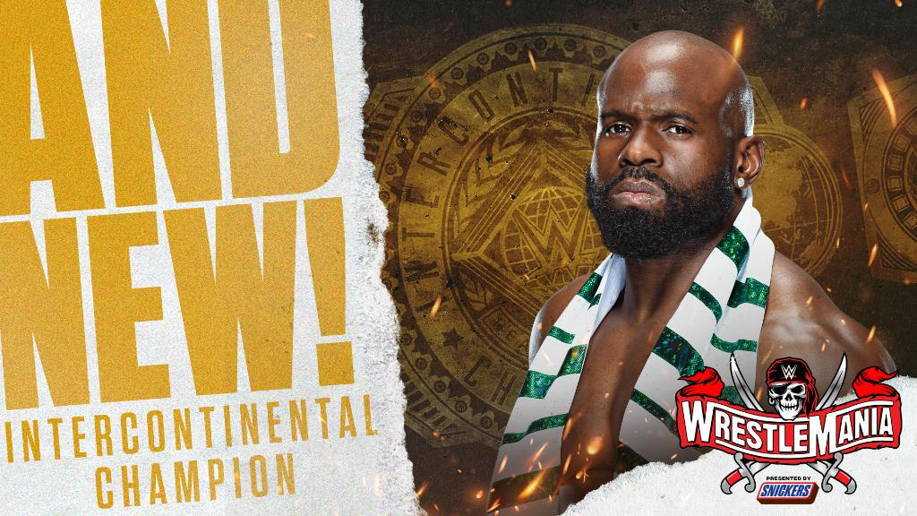 Apollo Crews Wins Intercontinental Title With Some Help