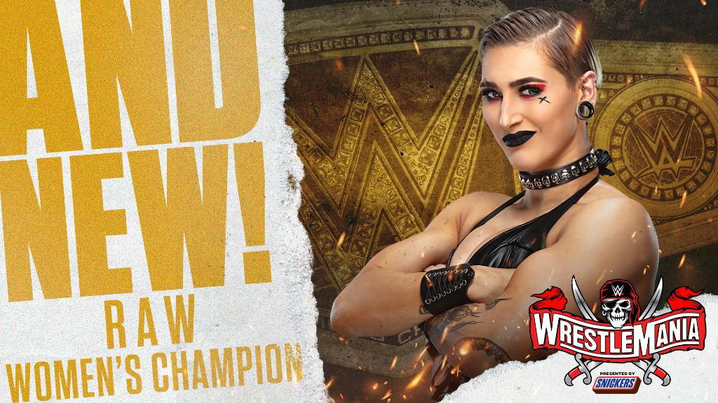 Rhea Ripley Captures RAW Women's Title