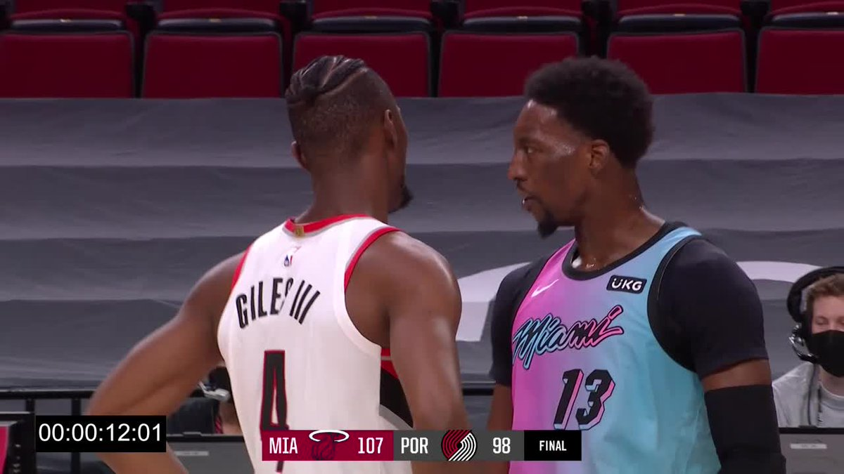Watch the Game Highlights from Portland Trail Blazers vs. Miami Heat, 04/11/2021 https://t.co/JRJoADsnLr
