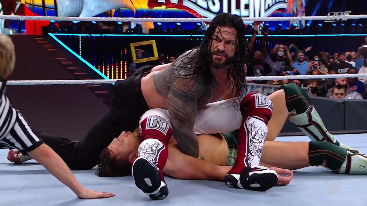 Roman Reigns Retains In Brutal WrestleMania 37 Main Event