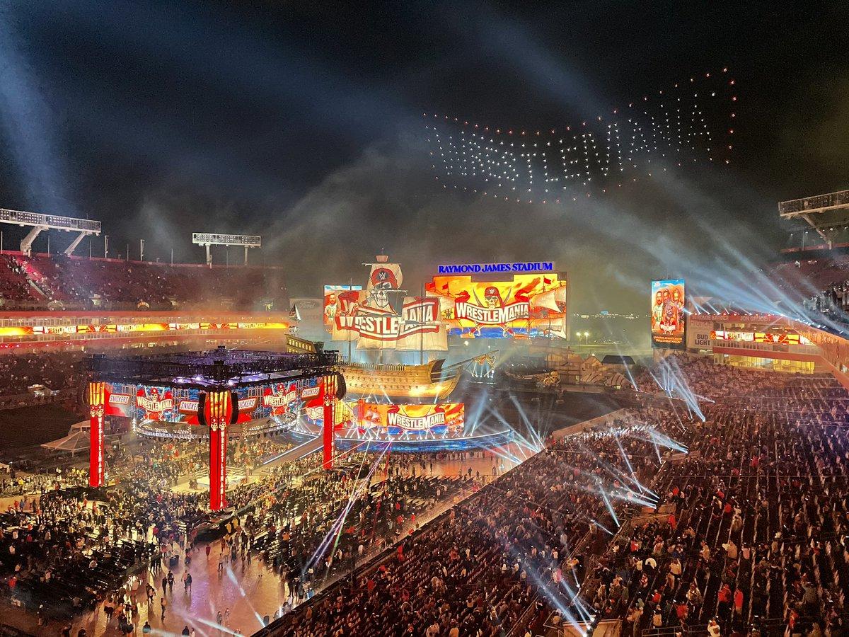 @sarahschreib's photo on #WrestleMania