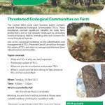 Join us and expert David Carr for a practical workshop learning about Threatened Ecological Communities in the Comobella area (near Geurie) next week.