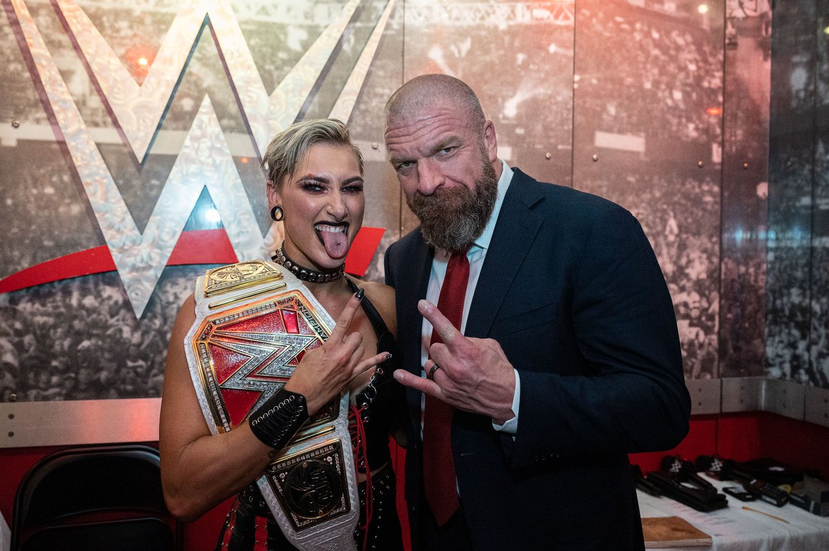 Triple H Congratulates New Champions From WrestleMania 37 Night 2