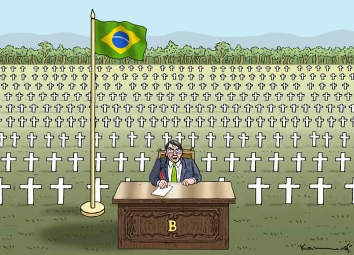 Como o mundo vê o genocídio no Brasil