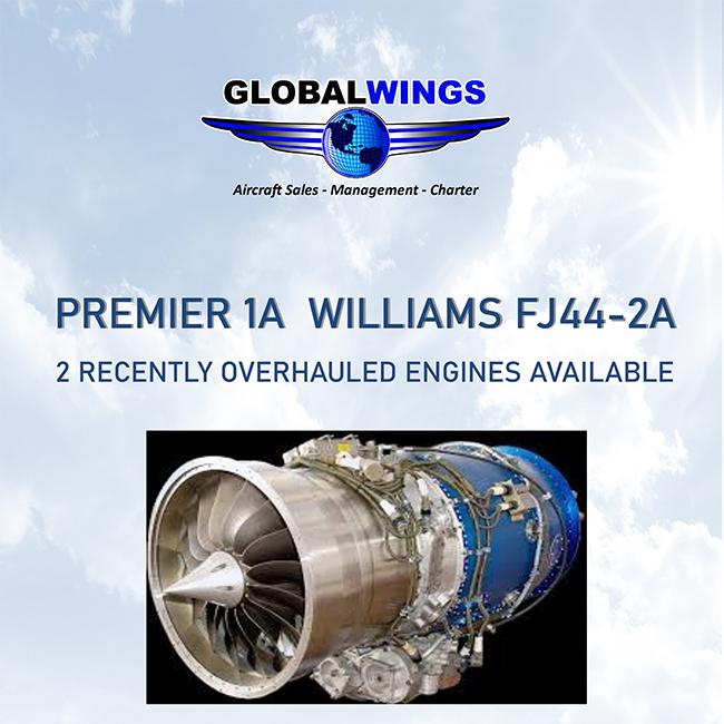 #Premier #1A overhauled engines for sale at @GWJets  More details at: https://t.co/YGyAjPGlur  #bizjet #aircraftforsale #privatejet #privateflying #jetforsale #businessaviation