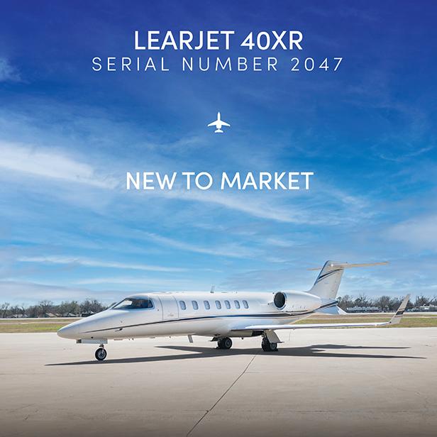 New to market - #Learjet #40XR at @OGARAJETS  2017  paint & interior WAAS / LPV More details at: https://t.co/5LyA29dllx  #bizjet #bizav #aircraftforsale #privatejet #privateflying #jetforsale #businessaviation