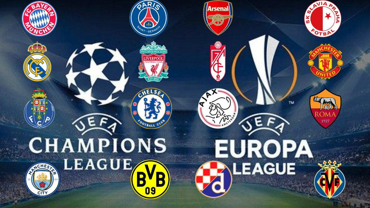 Out midday today!   Champions League & Europa League 1st leg match reactions & 2nd leg predictions.  Channel page: https://t.co/wJOW33dSPX  #ChampionsLeague #EuropaLeague https://t.co/PxhgXh0vAU