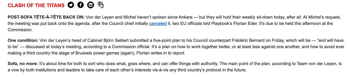 imo this requires more than a chat between the two people holding the offices in question. This is an existential matter for EU governance.