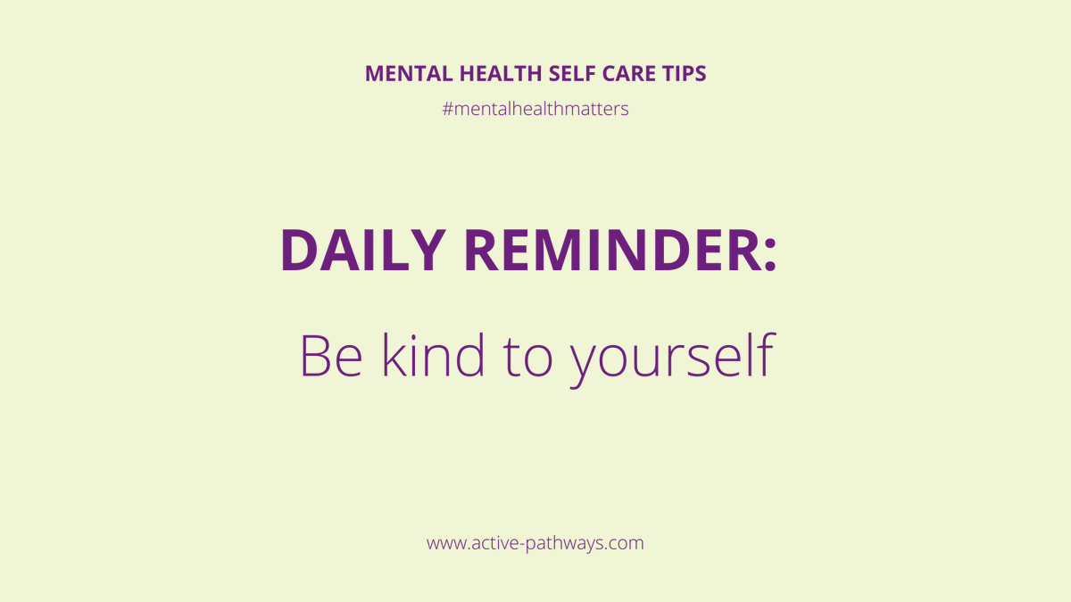 Be kind to yourself and don't overwhelm yourself with getting everything done right now #occupationaltherapy #rehabilitation #rehab #mentalhealth #mentalhealthmatters #mentalhealthadvocate #dailymotivation #mentalhealthrecovery #keyworkers #recovery