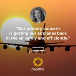 """Our primary concern is getting our airplanes back in the air safely and efficiently. The [Healthe] Wand does that.""  -Teresa King, Boeing  Learn more about this latest #UVC222 #sanitization solution at https://t.co/FZfMihfKv0. #HealtheInc @Boeing  #SafeTravel @teresaking"