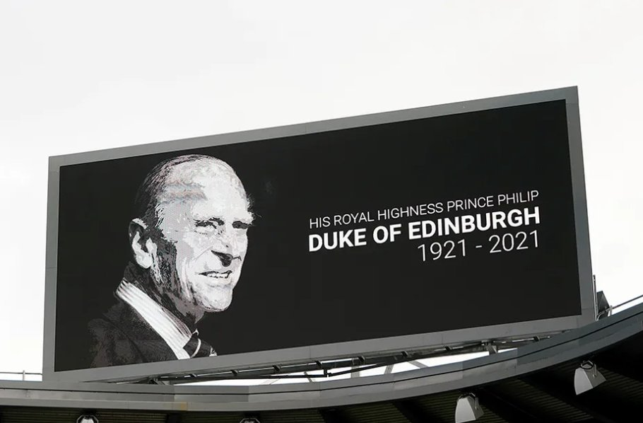 As a mark of respect for His Royal Highness The Prince Philip, Duke of Edinburgh, the #PL has rescheduled the match between @Wolves & @SheffieldUnited, due to be played on Saturday 17 April at 15:00 BST, to kick off later in the day at 20:15 BST  More: