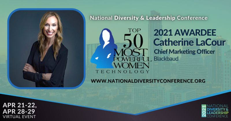 CCF Board member Catherine LaCour was named one of the 2021 Top 50 Most Powerful Women in Technology. Congratulations, @CatLaCour! We are grateful for your expertise and leadership as part of our Board.