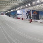 Image for the Tweet beginning: England's indoor #snow centres are