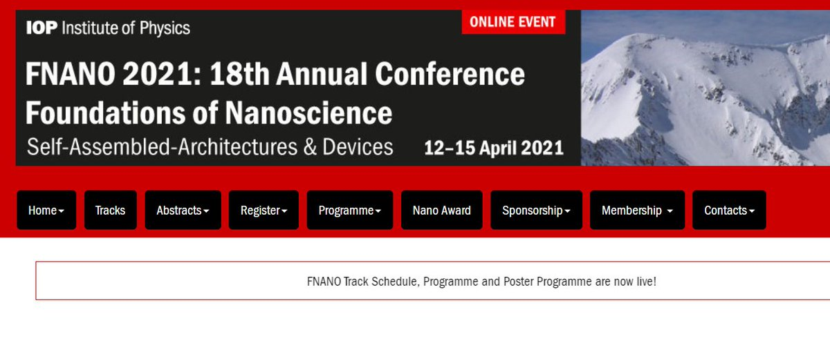 """Today & tomorrow partners of our #FETOpen @virofight project will speak during the """"Foundations of #Nanoscience"""" Online Conference! 👇 The yearly #FNANO conference is maintaining the highest scientific standards and provides opportunities for exchange. https://t.co/ZwcSukmdnX"""