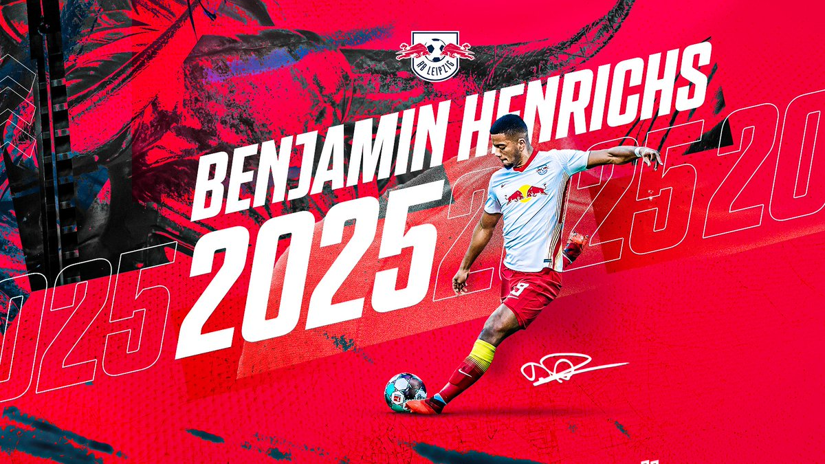 Benny is staying! 🙌  @Henrichs39 signs on a permanent deal with a contract until 2025 ✍️  🔴⚪ #RBLeipzig https://t.co/5SHP25j60Q