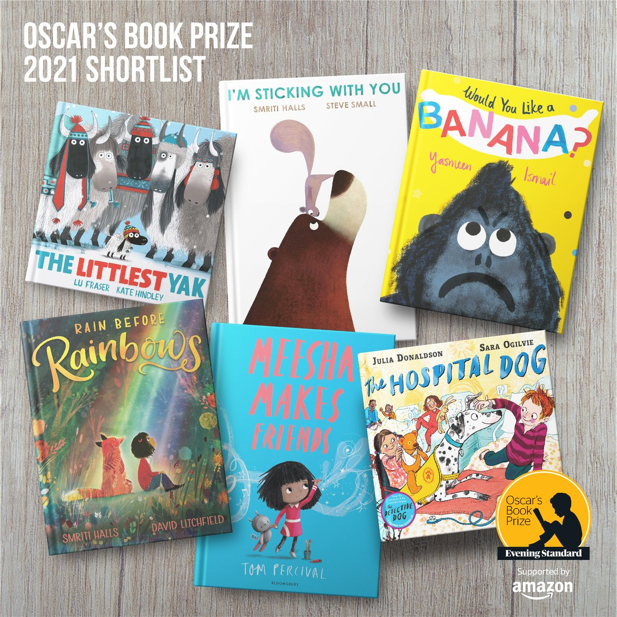 We are delighted to help promote a wonderful award that champions the creativity of UK authors and illustrators, and their dedication to magical storytelling for children at such a vital age in their development.  Good luck to everyone shortlisted for this year's prize!  #OBP21