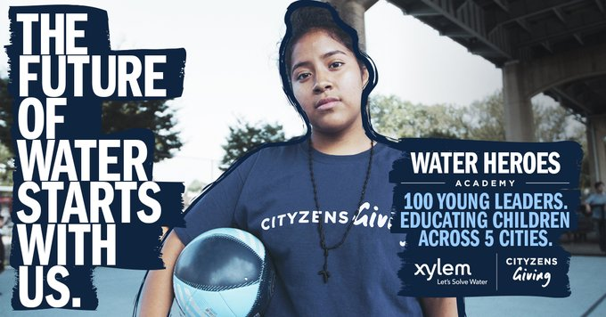 Together with #CityzensGiving, we are providing vital water education to young people through our #WaterHeroesAcademy program. Find out how the power ...