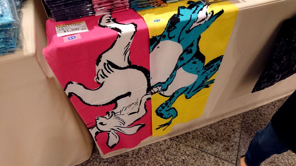 鳥獣戯画展が大盛り上がり!ミュージアムグッズがどれも可愛くて全部ほしい!