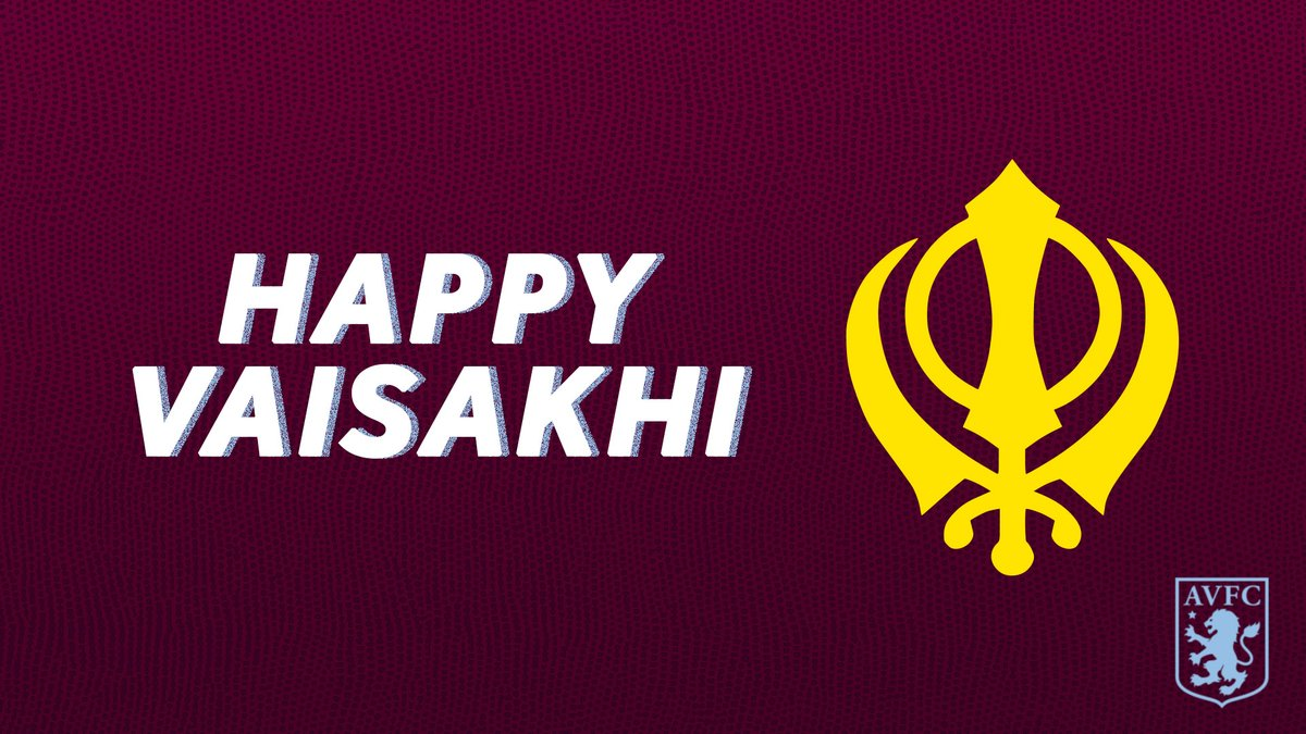 Replying to @AVFCOfficial: Wishing a #HappyVaisakhi to all celebrating around the world! 💜