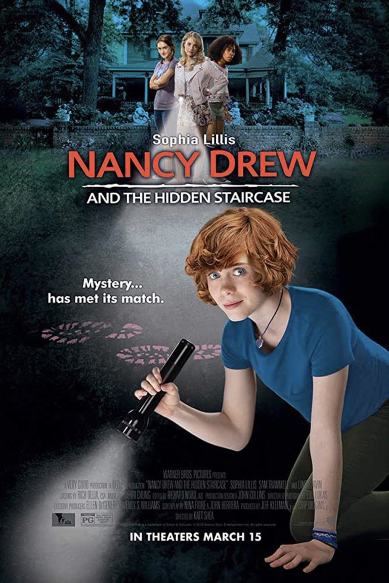 "test ツイッターメディア - 「ナンシー・ドリューと秘密の階段」(2019)を観た。キャロリン・キーンの「少女探偵ナンシー・ドリュー」シリーズの何度目かの映画化作品。主演は「IT/イット ""それ""が見えたら、終わり。」(2017,2019)のベバリー役のソフィア・リリス。 https://t.co/1UgG7mOifY"