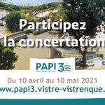Image for the Tweet beginning: La concertation publique autour du