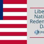 Image for the Tweet beginning: #Liberia's National Redemption Day is