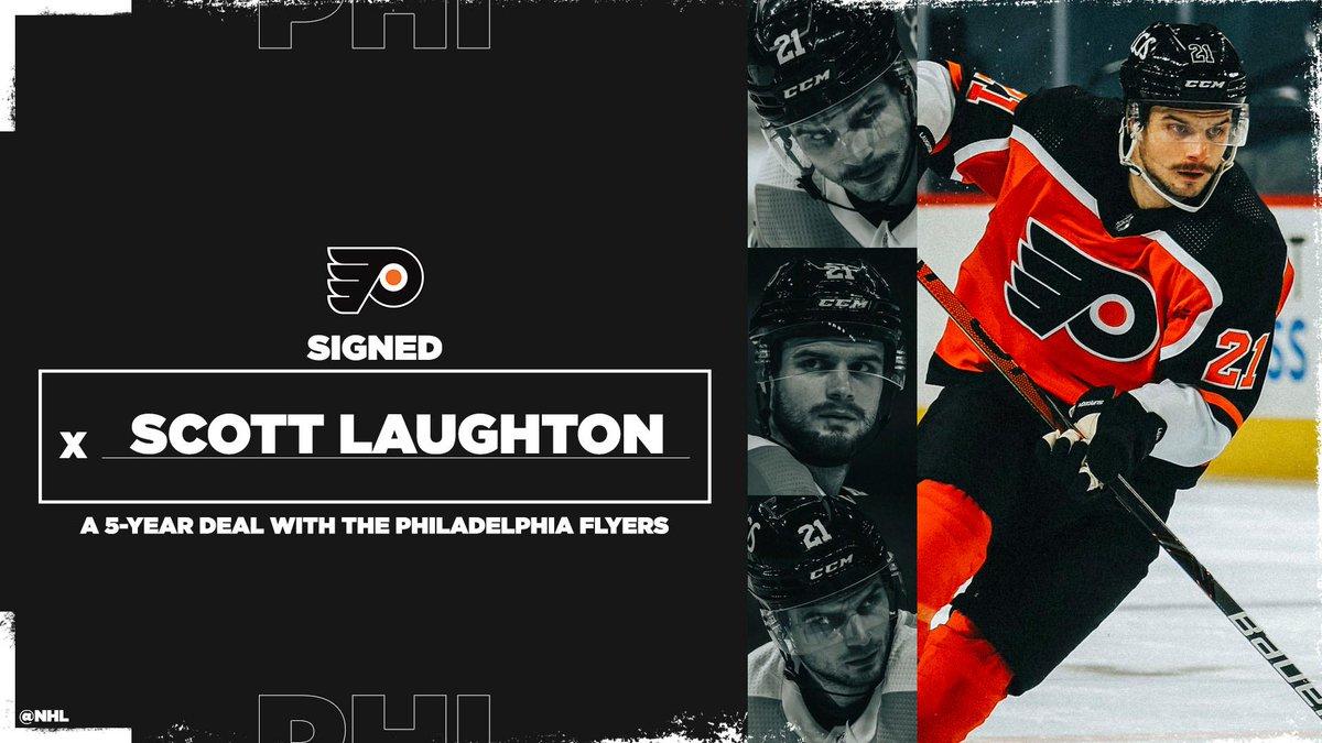 @NHL's photo on Scott Laughton
