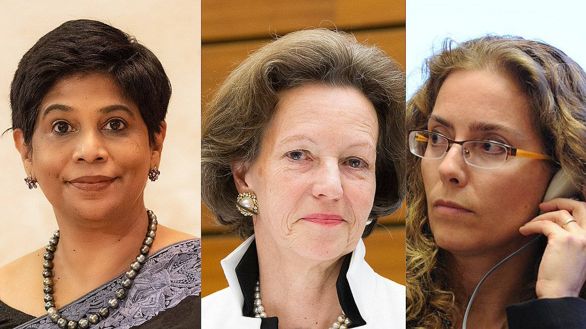 Did you know 3 women have presided over the Human Rights Council in its 15-year history?  From left to right: 🇫🇯 Nazahat Shameen Khan: 15 January 2021–present 🇦🇹 Elisabeth Tichy-Fisslberger: 1 January 2020–January 2021 🇺🇾 Laura Dupuy Lasserre: 19 June 2011–31 December 2012 https://t.co/hWbEoIX0Iw