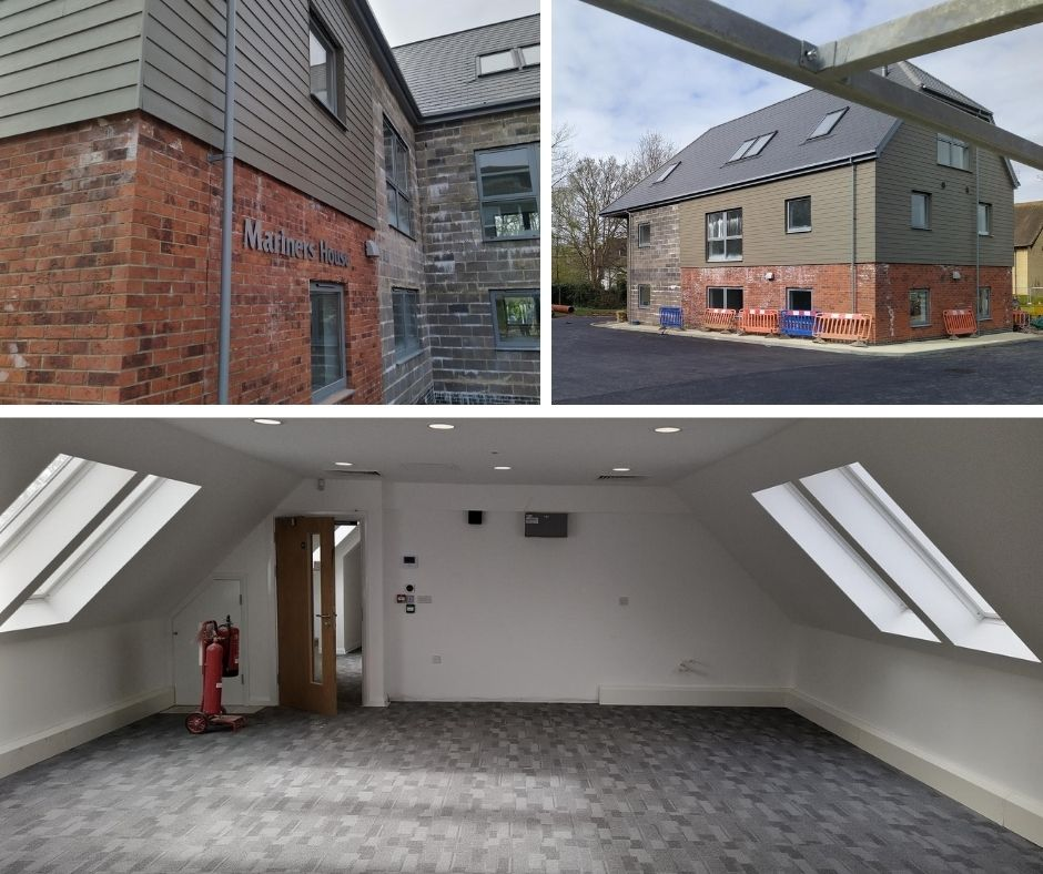 Mariner's House is looking great. We were pleased to be acting as Employers Agent for this project #Construction #constructionindustry #constructionuk