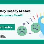 Image for the Tweet beginning: April is #StressAwarenessMonth. #MentallyHealthySchools' toolkits
