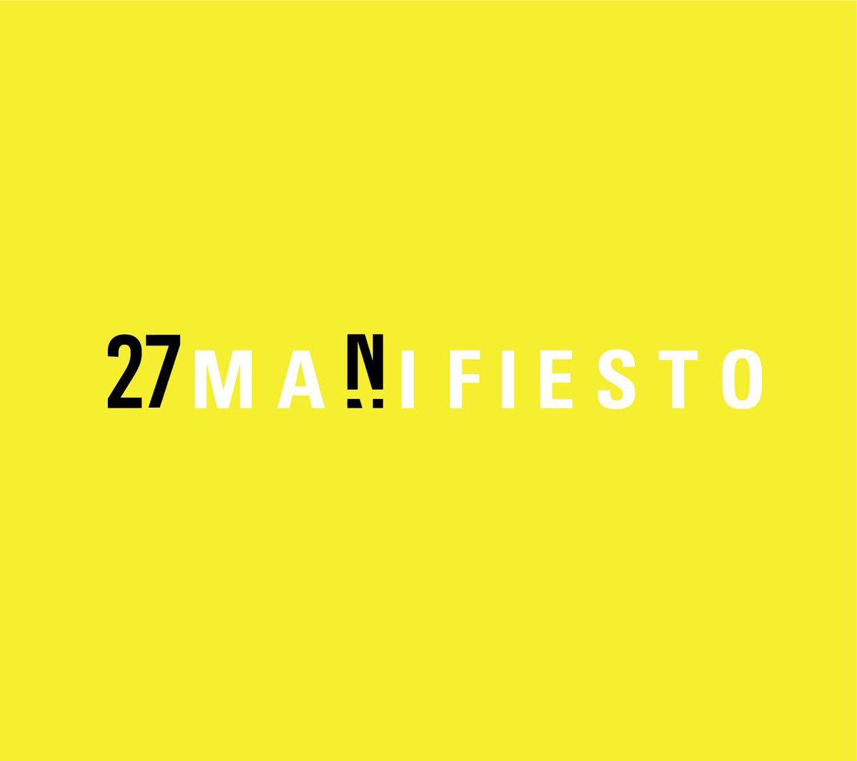 . @27Ncuba #manifesto calling for an inclusive and democratic country and appealing for the end of the abusive practices of power violating #humanrights including freedom of expression of dissident voices. #FreedomofArtisticExpression