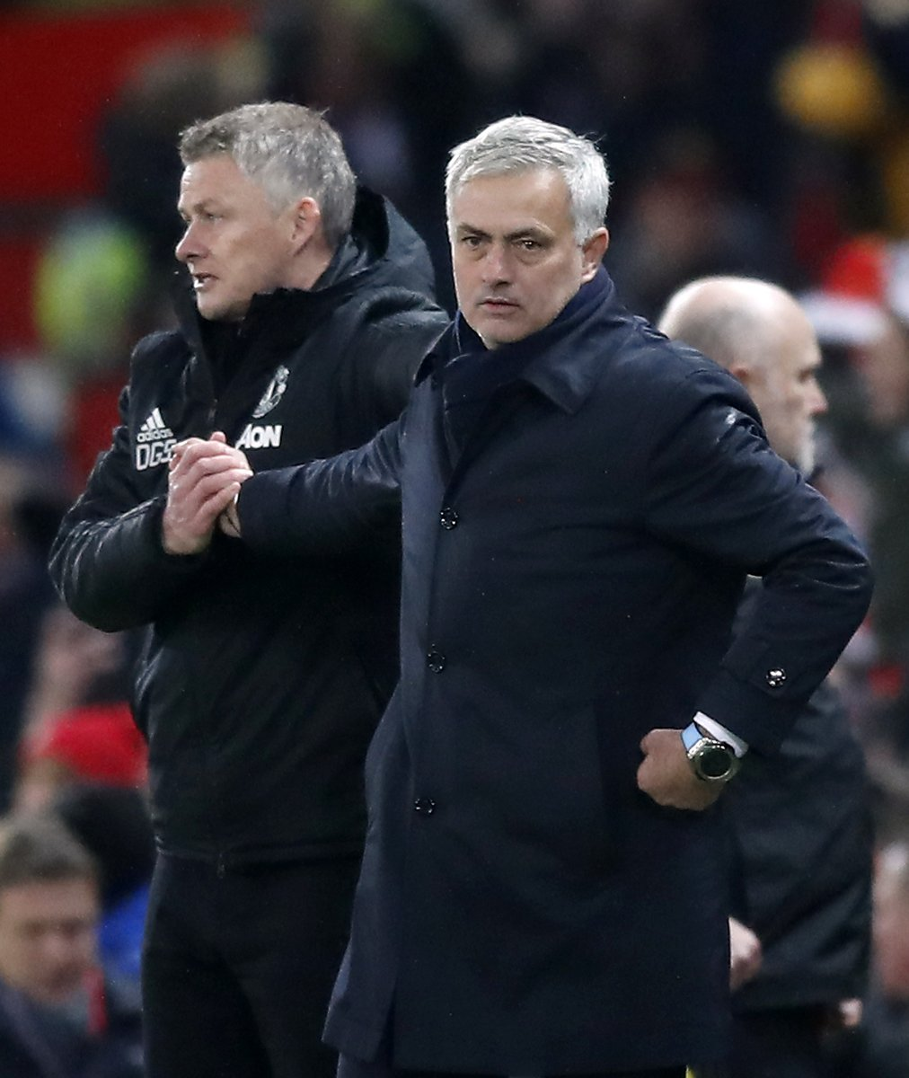 """Mourinho: """"I have Premier leagues, not a Premier league. I have Champions Leagues, not a Champions League.  The only person who can make an argument with me is Guardiola. He has everything that I have. Not a person with only 3pts in his name, but with no history of trophies."""" https://t.co/1yroQ2gzqy"""