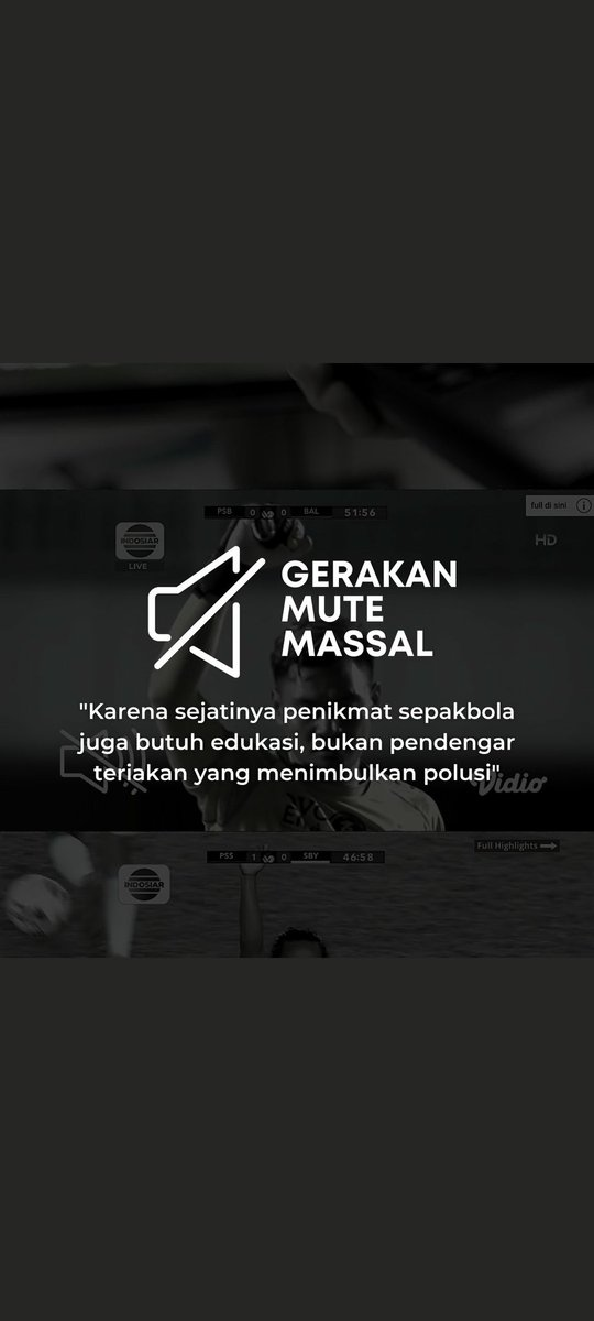 RT @jenajena43: #GerakanMuteMassal   @PSSI pls lah.. https://t.co/Xy4O9pTMjq