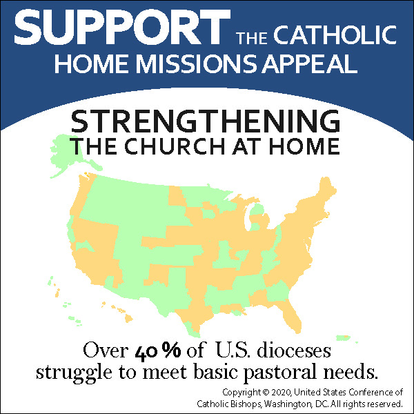 test Twitter Media - The Catholic Home Missions Appeal supports 40% of U.S. dioceses that cannot provide basic pastoral services.  Learn more: https://t.co/m9KZgNe433 #ChurchAtHome #1church1mission https://t.co/oaLOzqbZcs