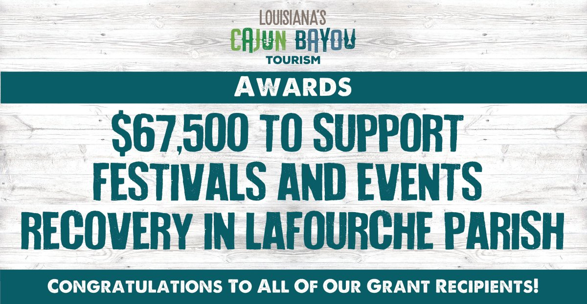 Working together to bring back our festivals! Great work! #LouisianaStrong 👊 #OnlyLouisiana