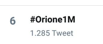 #Orione1M