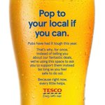 Image for the Tweet beginning: What a great advert from