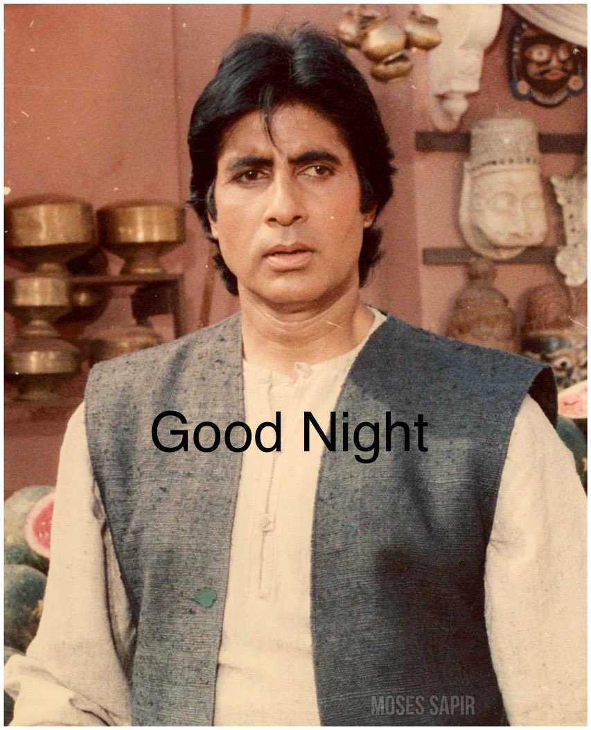 """""""चलो ज़िंदगी की एक नयी शुरुआत करते हैं, जो उम्मीद औरों से की थी, वो अब ख़ुद से करते हैं"""" Good Night @SrBachchan Boss Love you sabse zyada💐💕🌹💕 Regards ~ प्रवीण आहूजा (नॉएडा)"""