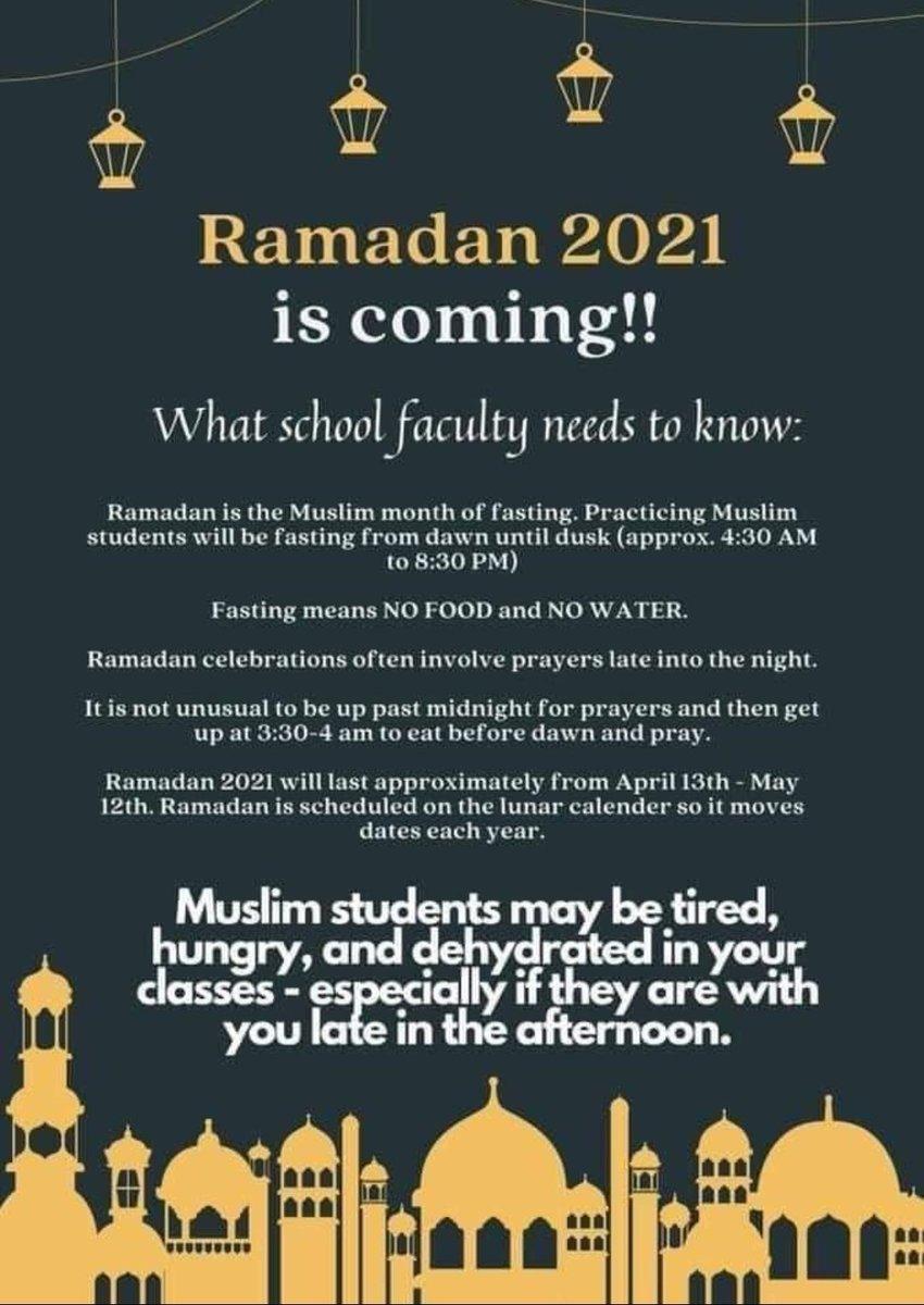 Ramadan begins April 13 <a target='_blank' href='http://twitter.com/longbranch_es'>@longbranch_es</a> <a target='_blank' href='http://twitter.com/APSVirginia'>@APSVirginia</a> <a target='_blank' href='https://t.co/14X65jKOTo'>https://t.co/14X65jKOTo</a>