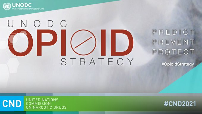 The non-medical use of opioids is a major threat to public health.   @UNODC is leading the global response to the opioid crisis. https://t.co/UAnnDM3ctO #CND2021 https://t.co/NpeGL6ANgC