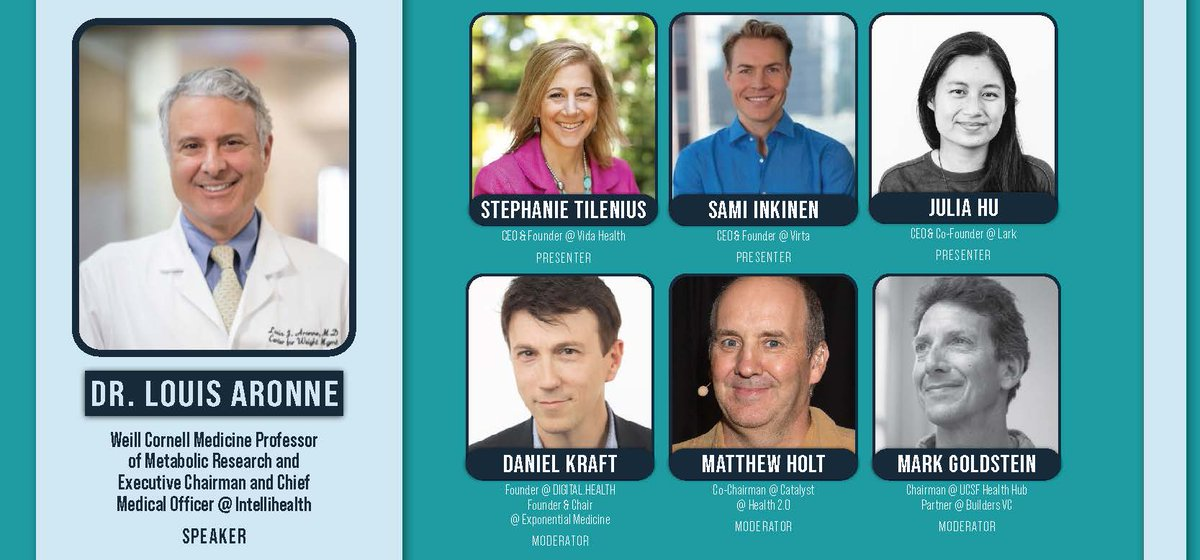 That's a good looking line up with an lot of athletic talent, plus @daniel_kraft & me....